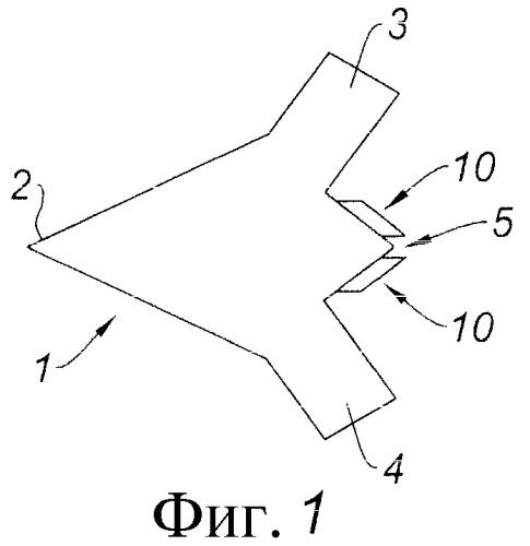Реактивное сопло с ориентацией тяги, способ его функционирования, турбореактивный двигатель и беспилотный летательный аппарат, оборудованный таким соплом
