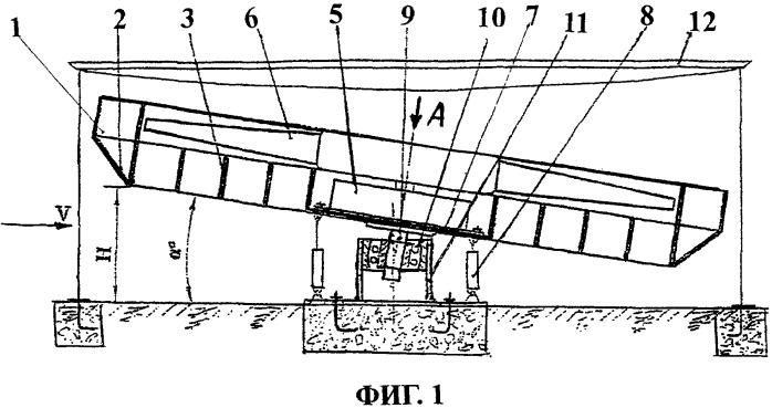 Ветродвигатель на основе аэродинамического экрана