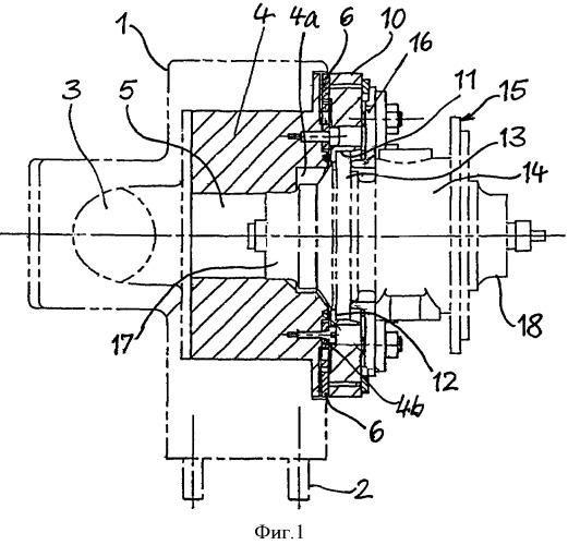 Способ и устройство для динамического измерения дебаланса ротора