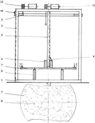 Стенд для испытаний материалов на ударный изгиб