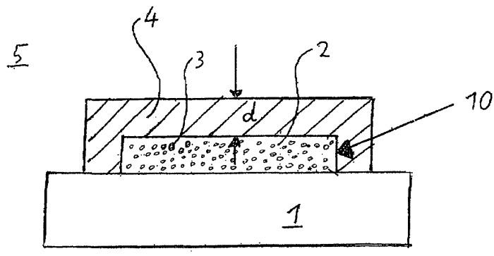 Флуоресцентный датчик для определения состава газа