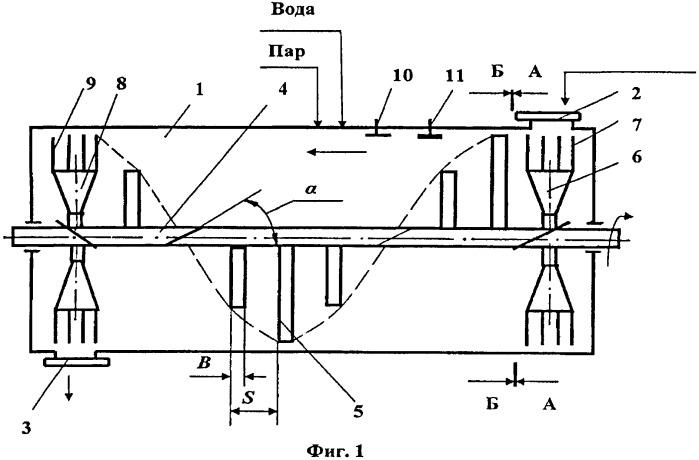 Реактор баротермической обработки концентрированных кормов