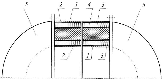 Водонепроницаемый прочный корпус подводного аппарата из стеклометаллокомпозита
