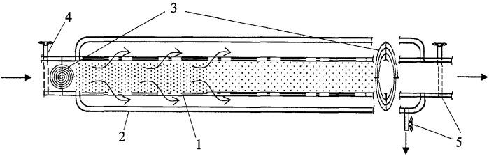Способ разделения водных растворов на высококонцентрированную и низкоконцентрированную фракции и устройство для его реализации