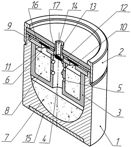 Тигель для выращивания монокристаллического слитка карбида кремния с нитридом алюминия и гетероструктур на их основе