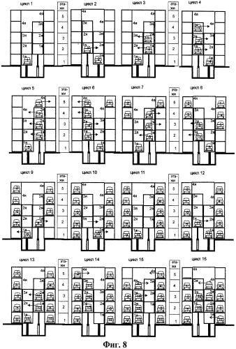 Система парковки и хранения автомобилей