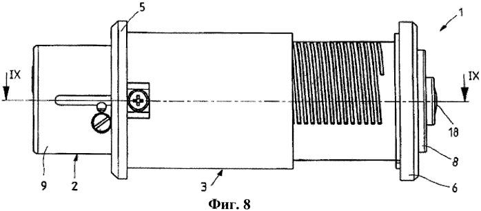 Запираемый штифтовой замок для раздвижных дверей