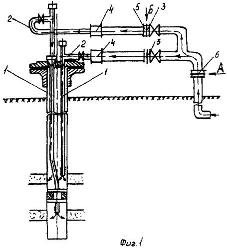 Оборудование устья скважины для одновременно-раздельного нагнетания жидкости