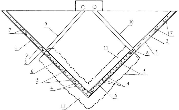 Способ строительства подземного хранилища в скальных грунтах