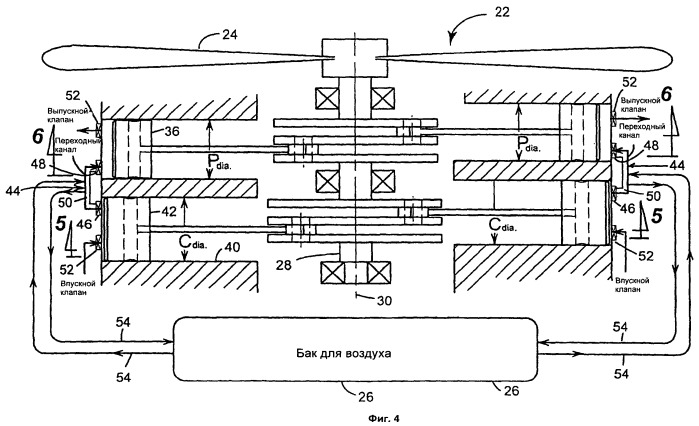 Двигатель с расщепленным циклом (варианты)