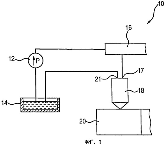 Устройство впрыскивания топлива для двигателя внутреннего сгорания