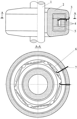 Устройство экранирования измерительного преобразователя переменного тока