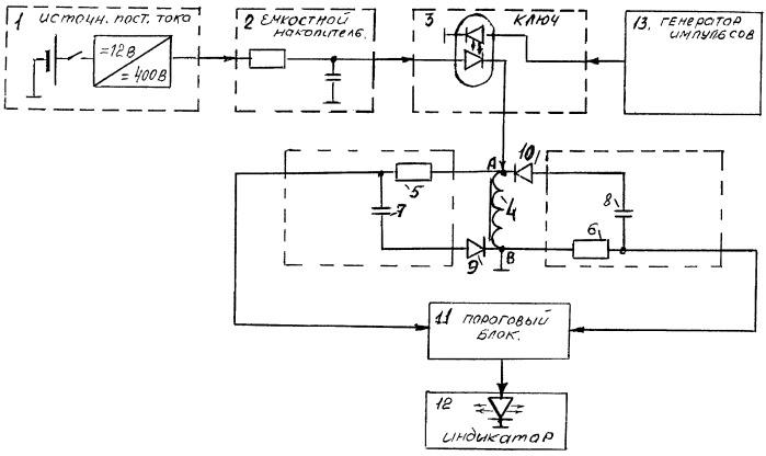 Устройство для контроля межвитковой изоляции обмоток