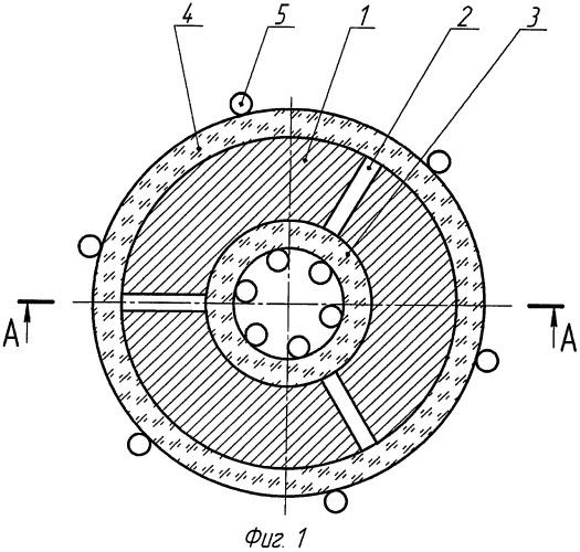 Катушка индуктивности с термокомпенсацией