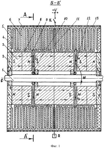 Индуктивно-емкостная электромагнитная машина