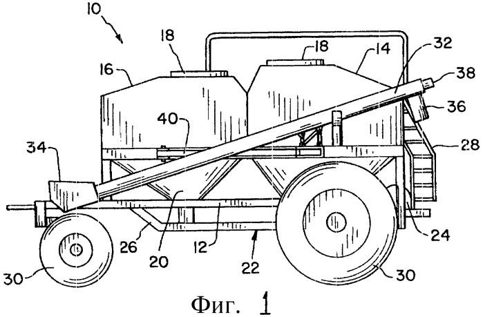 Сельскохозяйственное орудие, в частности пневматическая тележка для сельскохозяйственной сеялки