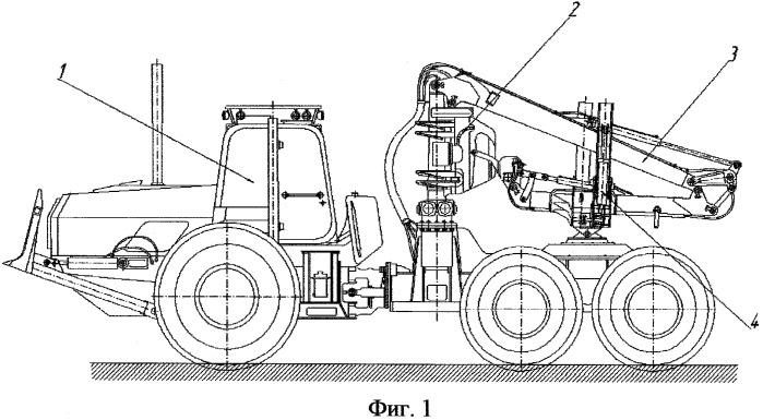 Способ выполнения лесосечных работ агрегатной машиной