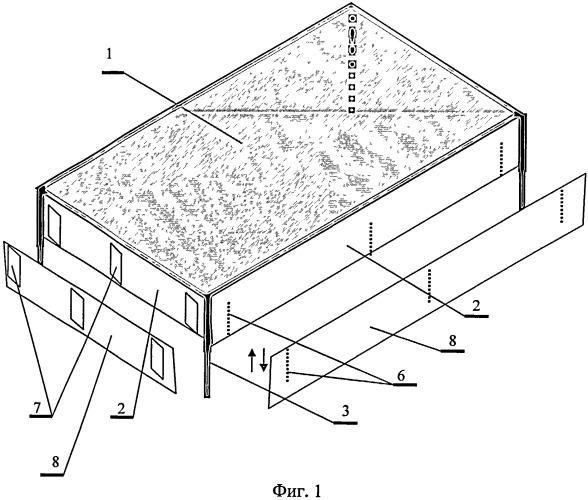 Устройство для определения зависимости урожайности семян энтомофильных культур от опыления пчелами