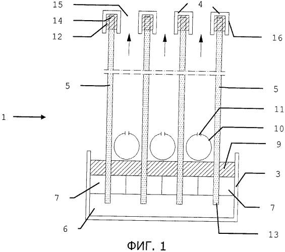 Фильтрационный модуль с капиллярной мембраной