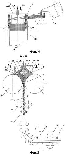 Способ и устройство для производства пористой металлической полосы
