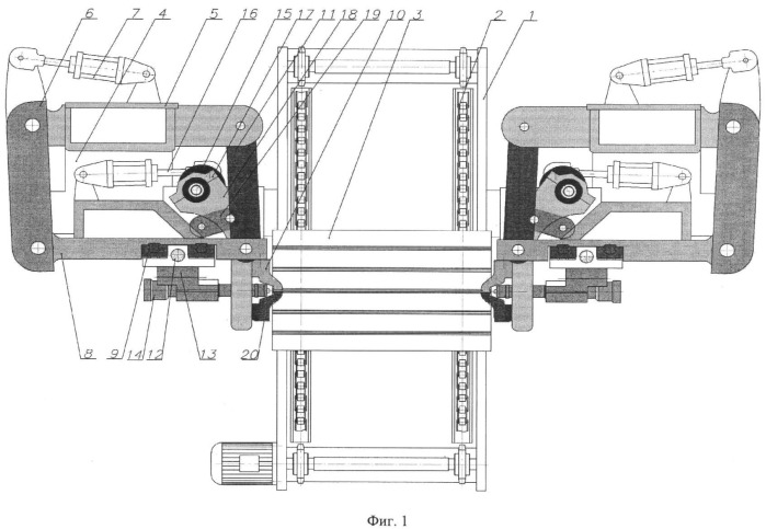 Способ и устройство замоноличивания сваркой кромок гофр стенок корпусов трансформаторов