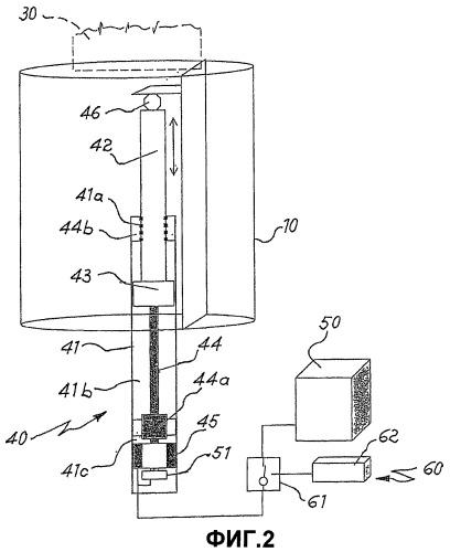 Электроприводное устройство для перемещения опор, несущих датчики в подводных лодках