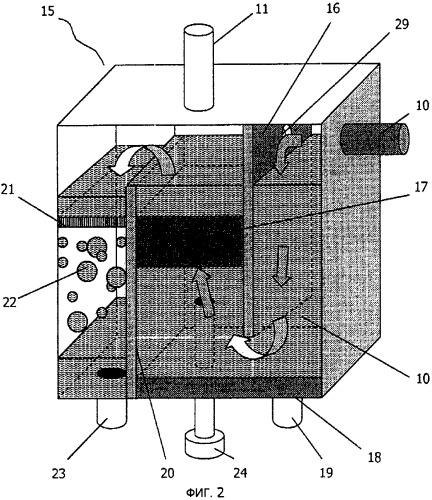 Устройство для отделения ртути от каустической соды на установках производства хлора и каустика