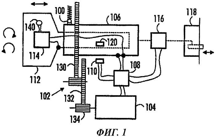 Электромеханическое запорное устройство и способ работы этого устройства