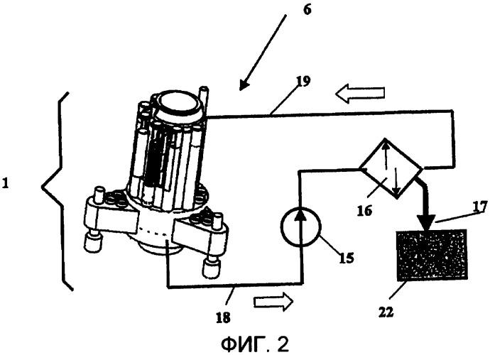 Сепаратор для отделения материала из установки для бурения, расположенной на дне моря