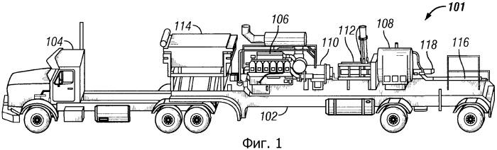 Способ и насосная система для нагнетания рабочей жидкости с поверхности скважины в ствол скважины (варианты)