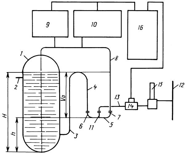 Устройство для измерения дебита газа и жидкости нефтяных скважин