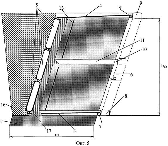 Способ разработки рудных залежей системой этажного обрушения с активным гибким разделяющим перекрытием