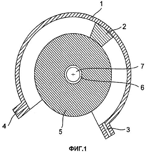 Ротационно-поршневая машина, рулевой привод колеса и привод вращения колеса с ротационно-поршневой машиной