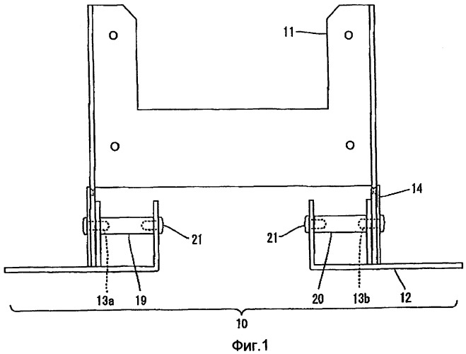 Стойка жидкокристаллической панели и устройство наклона