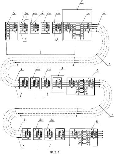 Способ опорожнения участков трубопроводов от газа в многониточных системах магистральных газопроводов