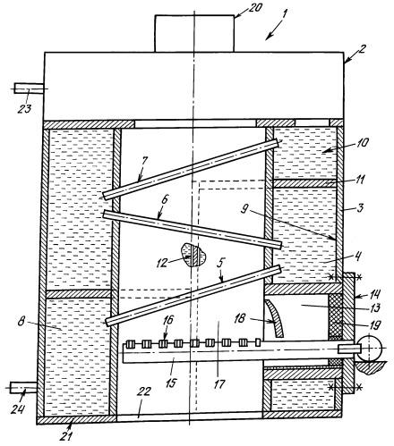 Способ изготовления газоотопительного устройства