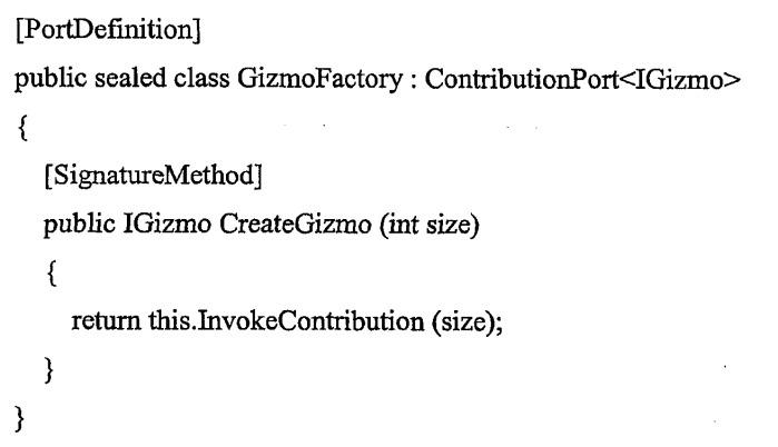 Использование атрибутов для идентификации и отбора подключаемых выполняемых функций
