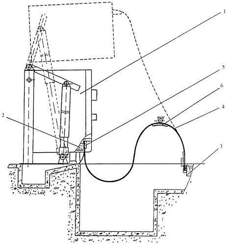 Способ монтажа и эксплуатации подвижной короткой сети