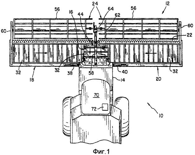 Секционная направляющая для ремня полотенного транспортера сельскохозяйственной уборочной машины