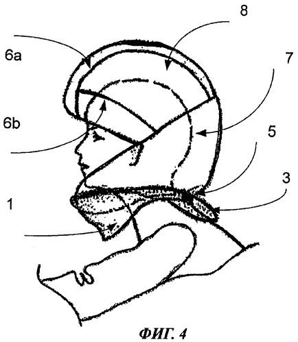 Способ и система для защиты части тела
