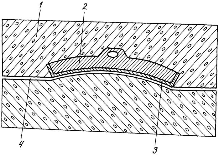 Способ изготовления тормозных колодок с облицовкой рабочих поверхностей