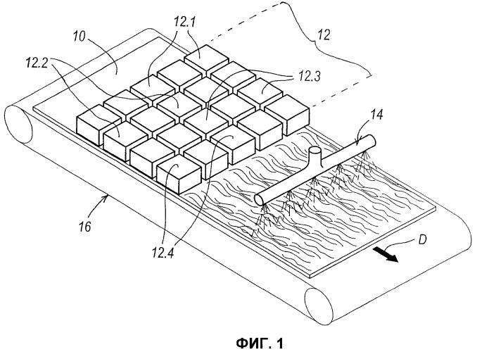 Способ печати на поверхностях плоских древесных элементов