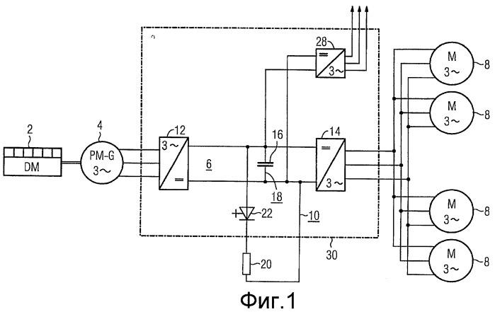 Дизель-электрическая приводная система