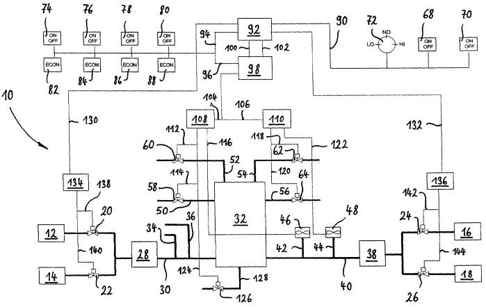 Система и способ распределения воздуха в грузовом воздушном судне