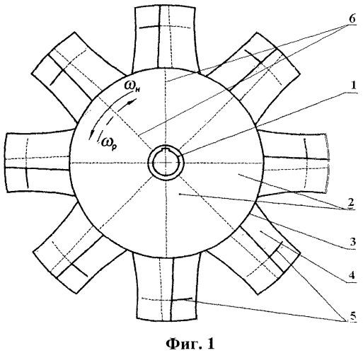 Рабочее колесо реверсивного осевого вентилятора