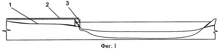Способ маскировки наплавного моста типа нжм-56