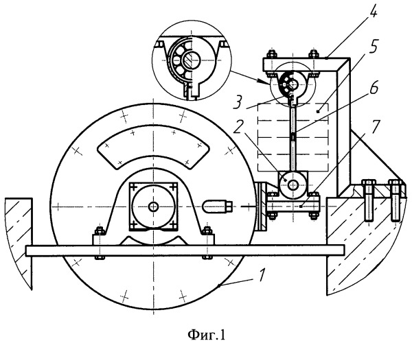 Устройство для определения тяговой силы на ведущих колесах автомобиля при качении по барабанам стенда