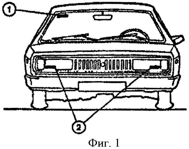 Способ идентификации транспортного средства и его частей