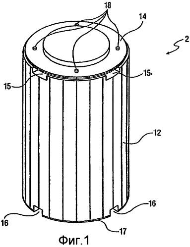 Система и способ хранения высокоактивных отходов