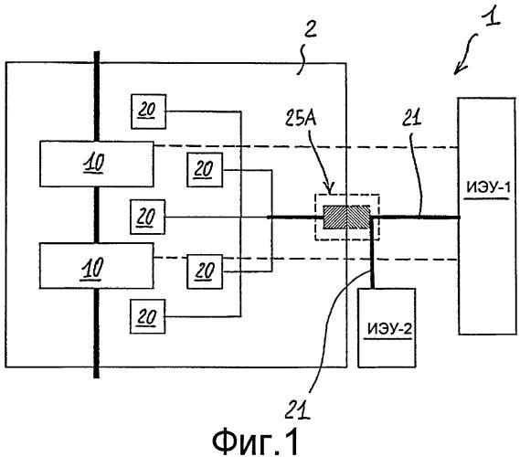 Ячейка распределения электроэнергии среднего напряжения (сн) или высокого напряжения (вн) с встроенной цифровой связью и многофункциональный модуль для такой ячейки